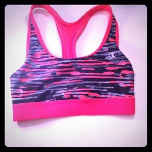 Champion Pink Sports Bra Size Small